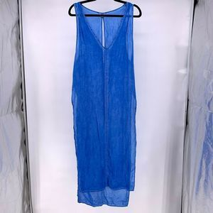 YFB Young Fabulous Broke Maxi Side Slit Swim Cover
